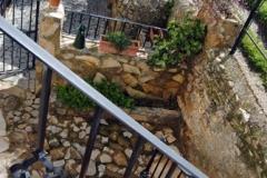 bajada escaleras casa