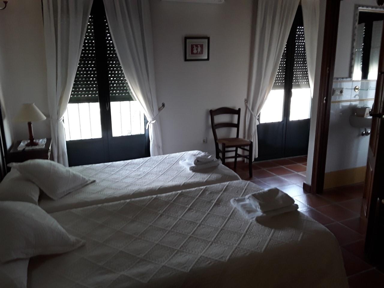Habitacion dos camas Apto.6